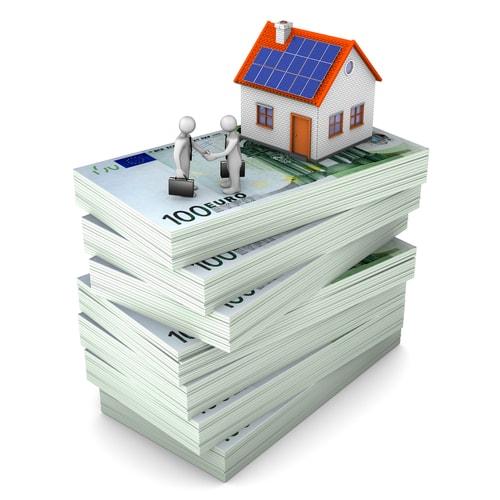 levert zonnepanelen geld op