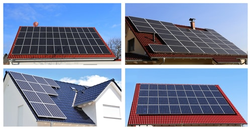 zonnepanelen verschillende daken